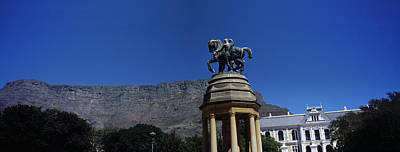 War Memorial With Table Mountain Poster by Panoramic Images
