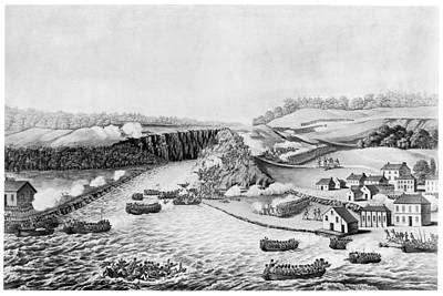 War Of 1812 Queenston Poster by Granger