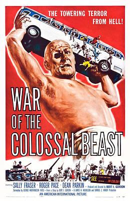 War Of The Colossal Beast, Dean Parkin Poster by Everett