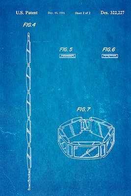 Warhol Five Face Watch 2 Patent Art 1991 Blueprint Poster