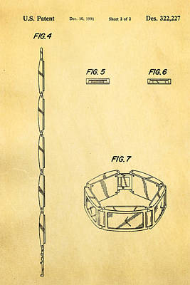 Warhol Five Face Watch 2 Patent Art 1991 Poster