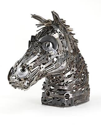 Warhorse Poster by Lawrie Simonson
