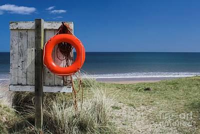 Warkworth Beach Northumberland Coast Poster