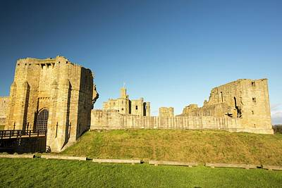 Warkworth Castle In Northumberland Poster