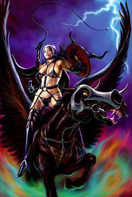 Warrior Queen Poster by Garry Walton