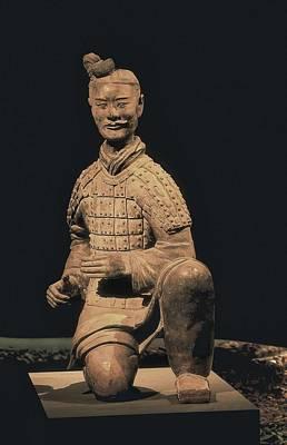 Warriors Of Xian. Archer. 221 -206 Bc Poster by Everett