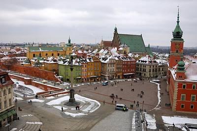 Warsaw Zamkowy Square Poster