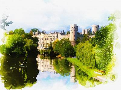 Warwick Castle Poster by Don Kuing
