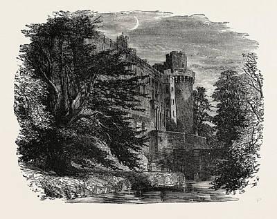 Warwick Castle Poster by English School