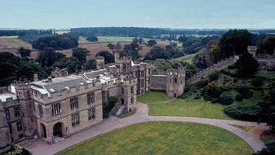 Warwick Castle From Guy's Tower Poster by Lin Grosvenor