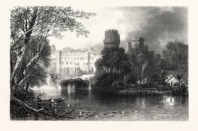 Warwick Castle, Uk, Britain, British, Europe Poster by English School