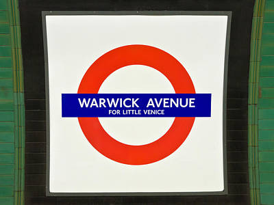Warwick Station Poster by Keith Armstrong