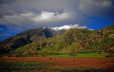 Wasatch Range In Utah Poster
