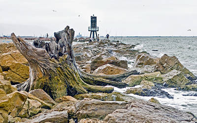 Poster featuring the photograph Washed Up by John Collins