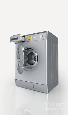 Washing Machine Poster by Nikid Design Ltd / Dorling Kindersley