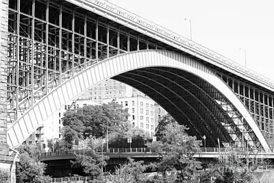 Washington Bridge New York City Poster by Robert Yaeger
