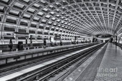 Washington Dc Metro Station X Poster
