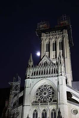 Washington National Cathedral - Washington Dc - 0113113 Poster by DC Photographer