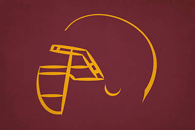 Washington Redskins Helmet Poster