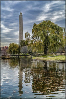 Washington Reflection Poster