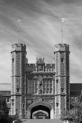 Washington University Brookings Hall Poster