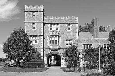 Washington University Mc Millen Hall Poster