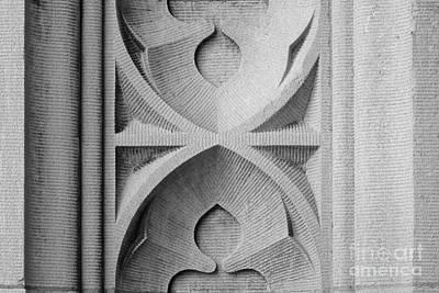 Washington University Stone Detail Poster