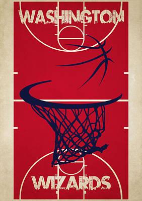 Washington Wizards Court Poster