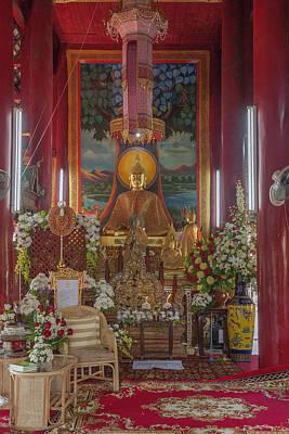 Wat Chedi Liem Phra Wihan Buddha Image Dthcm0827 Poster
