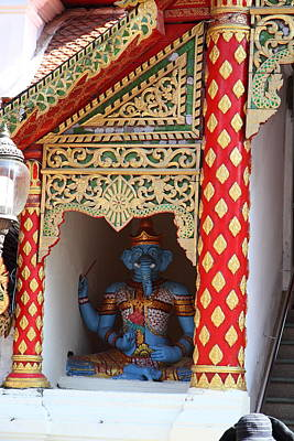 Wat Phrathat Doi Suthep - Chiang Mai Thailand - 011311 Poster by DC Photographer