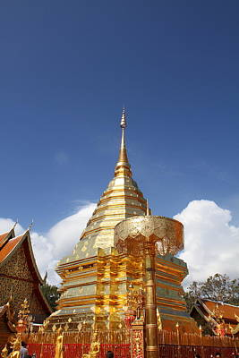 Wat Phrathat Doi Suthep - Chiang Mai Thailand - 011318 Poster by DC Photographer