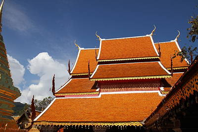 Wat Phrathat Doi Suthep - Chiang Mai Thailand - 011319 Poster by DC Photographer