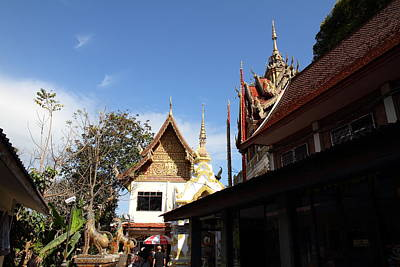 Wat Phrathat Doi Suthep - Chiang Mai Thailand - 01134 Poster by DC Photographer