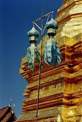 Wat Phrathat Doi Suthep  Poster by David Coleman