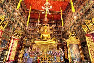 Wat Ratcha Orasaram Ratchaworawiharn Poster by Jaynes Gallery