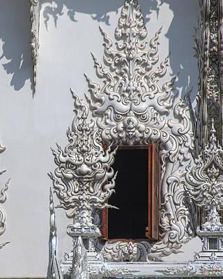 Wat Rong Khun Ubosot Window Dthcr0042 Poster