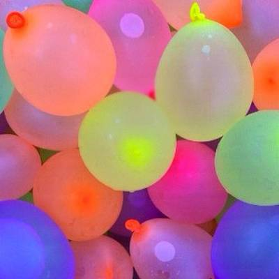 Water Balloons Poster