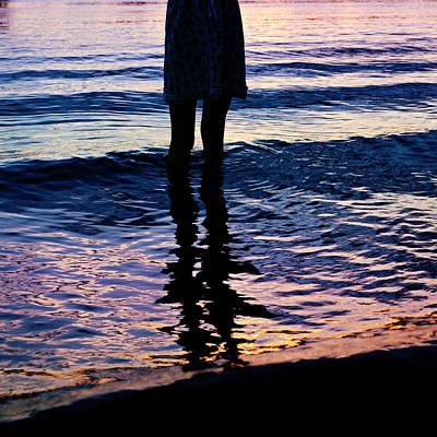 Water Color Echos Poster by Laura Fasulo