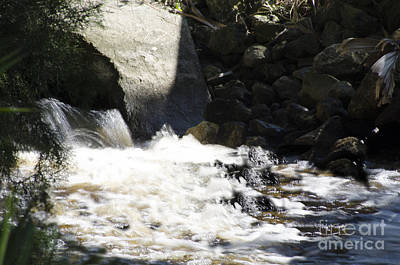 Water Flowing Poster
