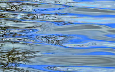 Water Reflections 3 Poster by Allen Beatty