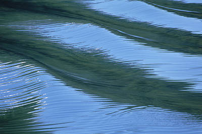 Water Ripples And Reflections Alaska Poster by Konrad Wothe