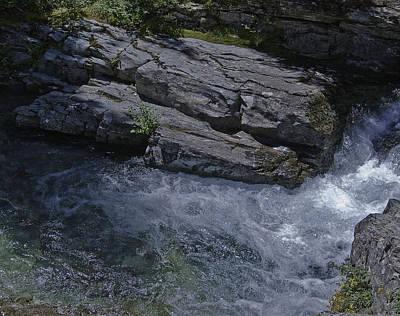 Water Rock Poster