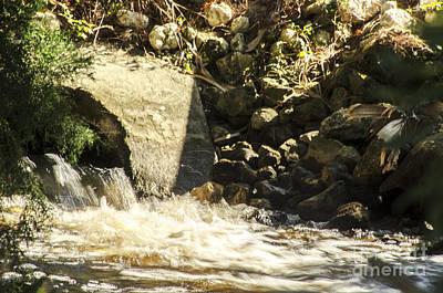 Water Rocks Poster
