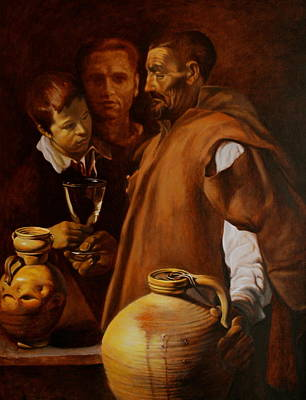 Water Seller Of Seville Poster by Dan Petrov