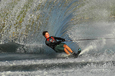 Water Skiing Magic Of Water 13 Poster