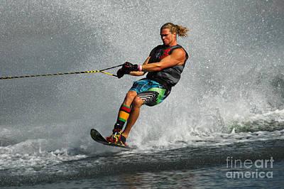 Water Skiing Magic Of Water 24 Poster