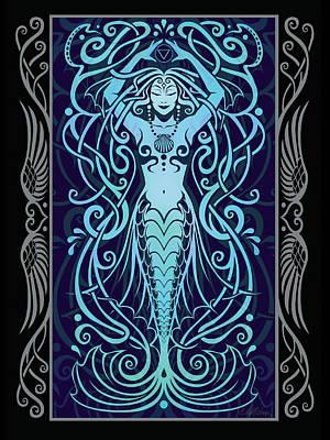 Water Spirit V.2 Poster