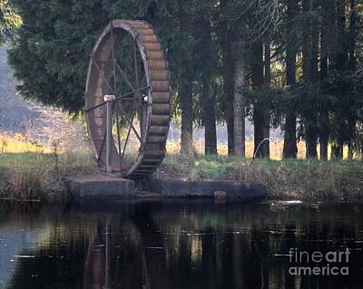 Water Wheel Poster by Erica Hanel