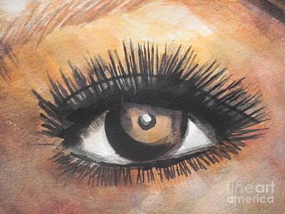 Watercolor Eye Poster