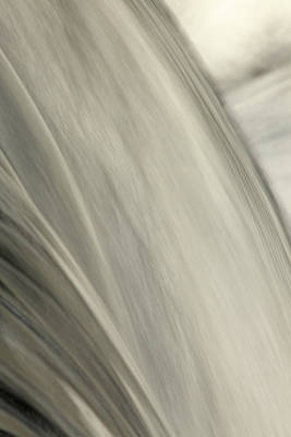 Waterfall Abstract Poster by Karol Livote